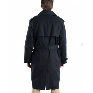 Black London Fog Trench 40 R Limited Edition Long